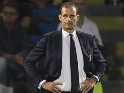 Max Allegri, allenatore della Juve. Getty