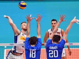 Ivan Zaytsev contro il muro russo