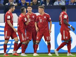 La gioia del Bayern. Ap