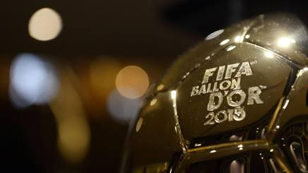Il Pallone d'Oro ai tempi della doppia organizzazione Fifa-FranceFootball. Afp