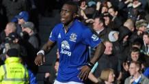 Drenthe con la maglia dell'Everton. Afp