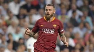 Daniele De Rossi, centrocampista della Roma. Lapresse