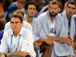 Charlie Recalcati all'Olimpiade di Atene 2004 AP