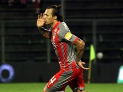 Vasile Mogos, difensore goleador della Cremonese. LaPresse