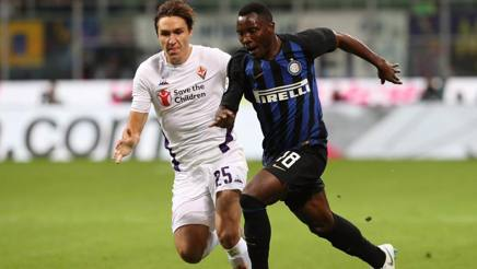 Chiesa, Asamoah. GETTY IMAGES