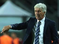 Gasperini, allenatore dell'Atalanta. Ansa