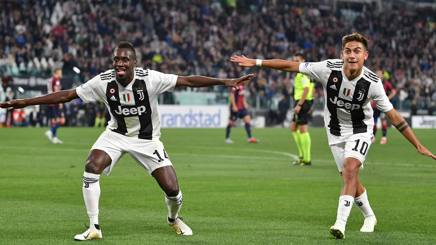 Matuidi e Dybala. Getty
