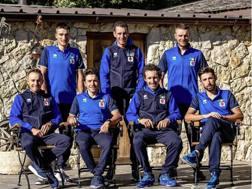 Gli azzurri impegnati al Mondiale in Austria