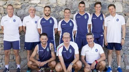 Il team azzurro impegnato all'Europeo