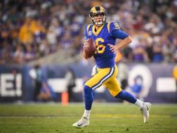 Jared Goff, 23 anni, QB alla terza stagione ai Los Angeles Rams AFP