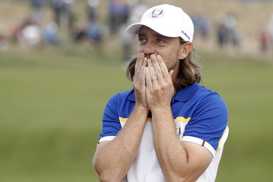 La commozione di Tommy Fleetwood