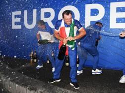 Francesco Molinari, 35 anni, dopo il trionfo