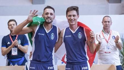 La gioia di Emanuele Ferrero e Mauro Roggero