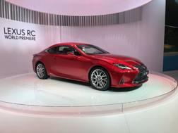 La nuova Lexus RC