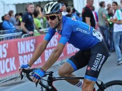 Vincenzo Nibali con la maglia azzurra. Bettini