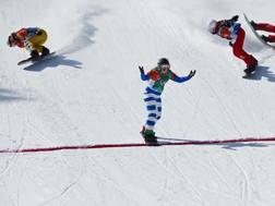 Il trionfo di Michela Moioli ai Giochi di PyeongChang. Ipp