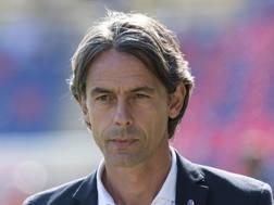 Filippo Inzaghi, allenatore del Bologna. LaPresse