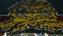 La curva dell'Eintracht Francoforte Getty