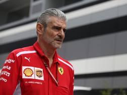Maurizio Arrivabene, team principal Ferrari. Lapresse