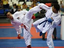 Rosario Ruggiero in azione ai Mondiali juniores 2017 dove vinse l'argento
