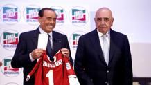 Silvio Berlusconi e Adriano Galliani. LaPresse