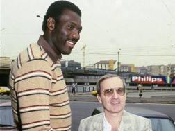 Bob McAdoo con Dan Peterson. Archivio