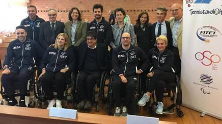 La squadra di tennistavolo paralimpico che parteciperà ai Mondiali in Slovenia dal 17 al 21 ottobre