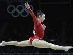 Aly Raisman, 24 anni, ginnasta statunitense, un bronzo, due argenti e tre ori nelle ultime due Olimpiadi AP