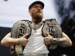 Conor McGregor, 30 anni, torna sull'ottagono dopo due anni. Ap