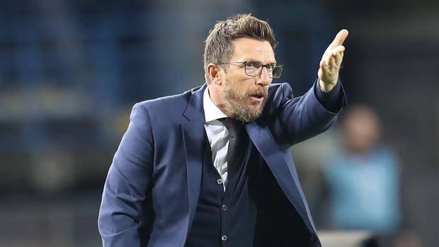 Di Francesco Roma allenatore