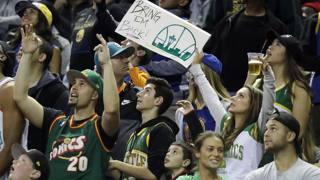 Durant con la maglia dei Sonics e tanto tifo: che spettacolo l'Nba a Seattle 10 anni dopo...