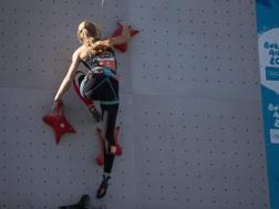 L'arrampicata ai Giochi giovanili. Epa