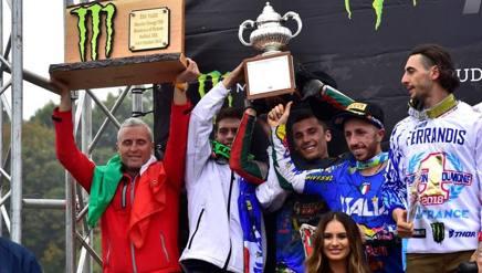 Il 2° posto dell'Italia al Motocross delle Nazioni