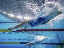 Le gare di nuoto a Buenos Aires. Ap