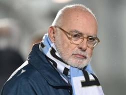 Il patron del club ligure, Gozzi. Lapresse