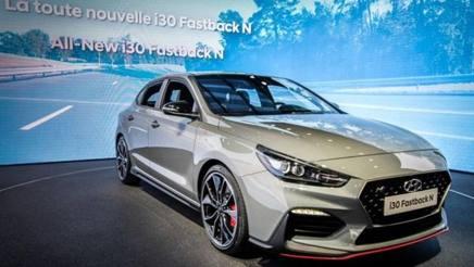 La Hyundai i30 Fastback N