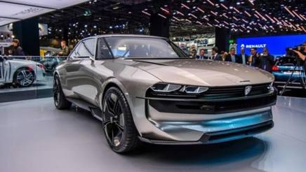 La concept Peugeot nata sulla base della vecchia 504