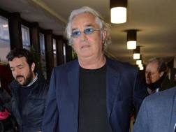 Flavio Briatore, ex manager Renault. Ansa