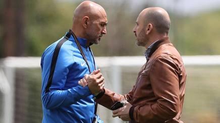 Luciano Spalletti e Piero Ausilio. Getty Images