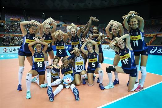 Calendario Mondiali Pallavolo.Volley Mondiale Donne Italia Con Giappone E Serbia Nella