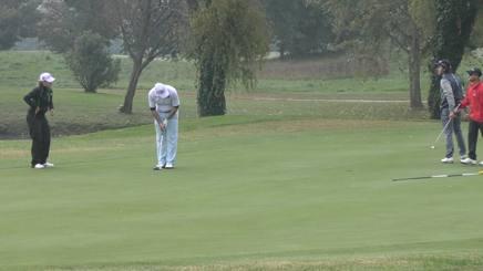 Un momento dell'Open per disabili al Golf Crema