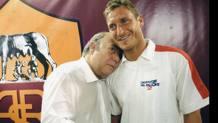 Lino Banfi con Francesco Totti