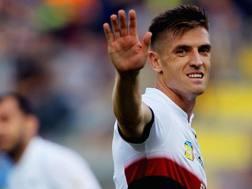 Krzysztof Piatek, 23 anni, attaccante del Genoa e della Polonia. Getty Images