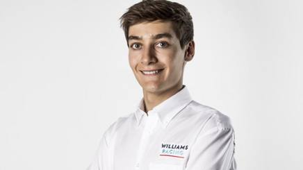 George Russell, pilota Williams per il 2019