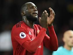 Romelu Lukaku orgoglioso della rimonta dello United contro il Newcastle. Afp