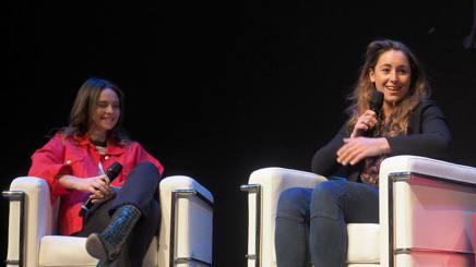 Francesca Michielin e Sofia Goggia a Trento. Bozzani