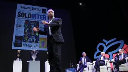 Enrico Mentana, ospite de Il Festival dello Sport. LIVERANI
