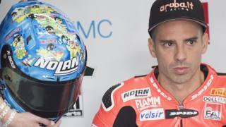 Marco Melandri, pilota della Ducati. Getty