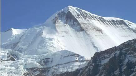 Il monte Gurja in Nepal