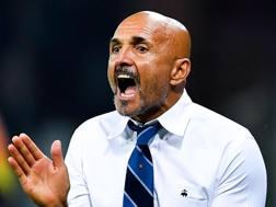 Luciano Spalletti, allenatore dell'Inter. Ansa
